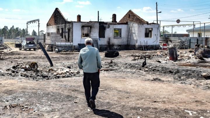 Власти назвали площадь домов, которые восстановят для погорельцев на юге Челябинской области