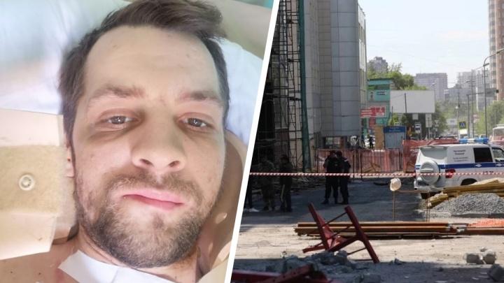 «Всегда буду пить обезболивающие»: как себя чувствует строитель через месяц после падения в люльке с 11-го этажа