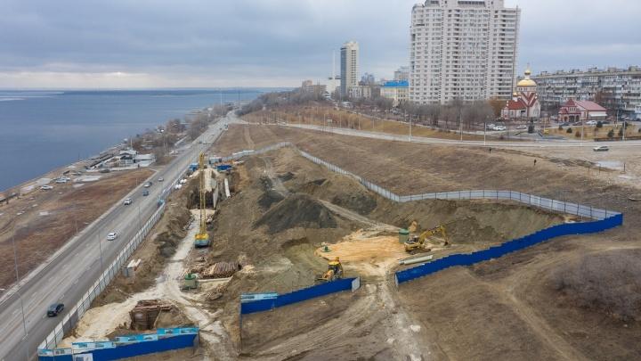 В Волгограде начали строить еще одни очистные для дождевых стоков