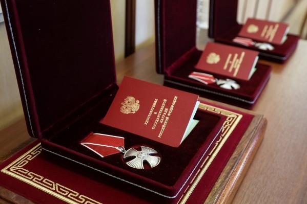 Приказ о вручении орденов подписал Владимир Путин