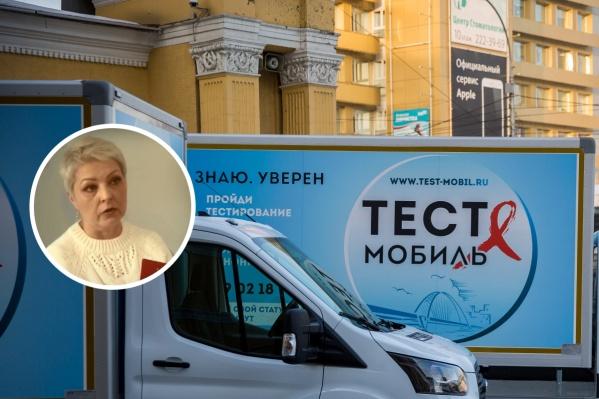 Марина Полкова была консультантом тест-мобилей