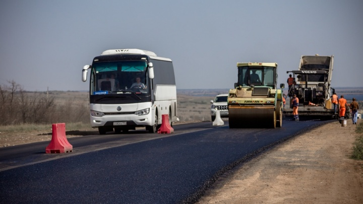 Чтобы не создавать неудобств: в Волгоградской области дорожники пообещали не создавать пробок на федеральных трассах
