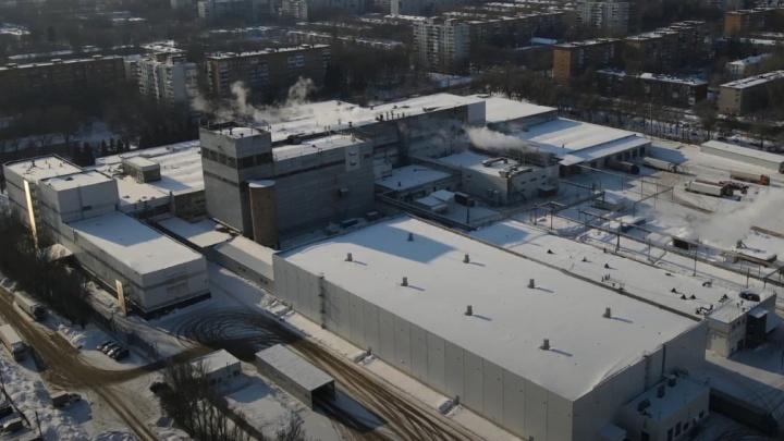 Сладкая империя: как выглядит самарская шоколадная фабрика с высоты
