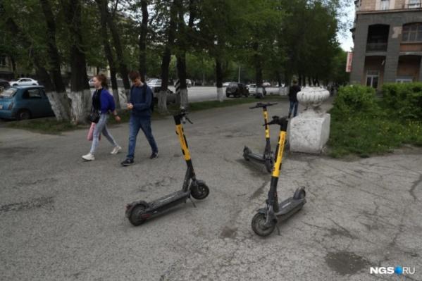 Новосибирцы смогут передвигаться по Академгородку на арендованных самокатах по велодорожкам
