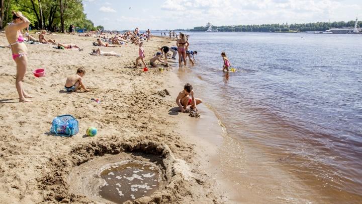 Разрешать и запрещать купаться этим летом на ярославских пляжах будут с помощью разноцветных флагов