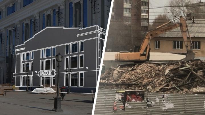 Исчезнувший Екатеринбург. Восстанавливаем «Пассаж» и Дом Серебровских у арены УГМК