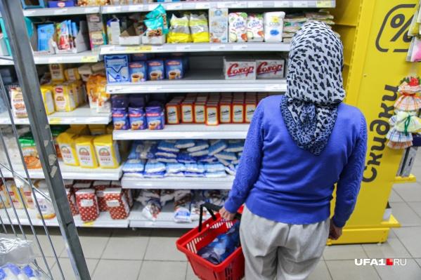 Сколь многим жителям Башкирии приходится считать в магазине каждую копейку?