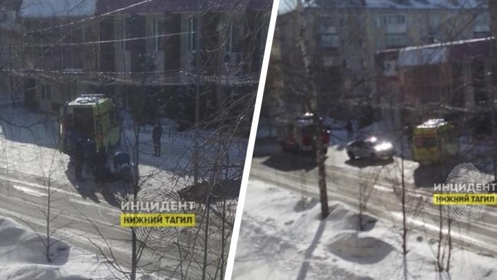 На Урале водитель иномарки после ссоры протаранил четырех человек