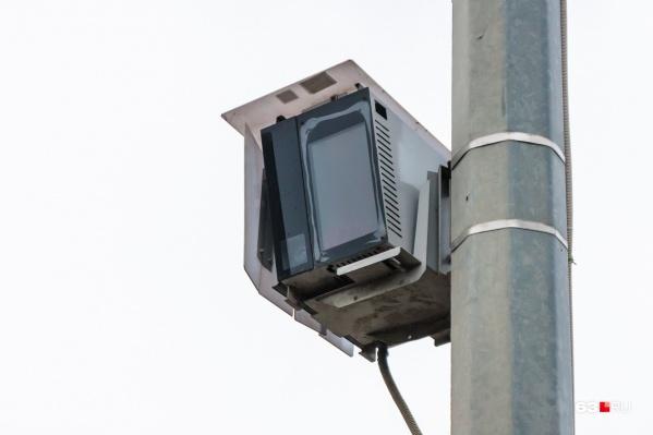 Большинство камер в регионе фиксируют скорость
