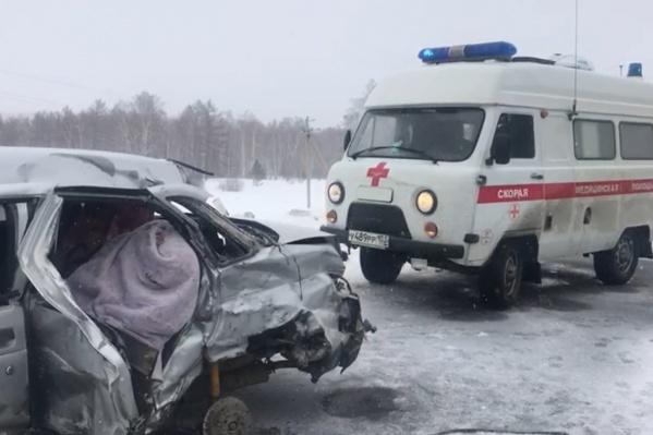Автомобили получили серьезные повреждения