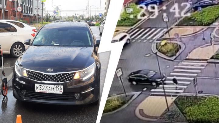 В Солнечном районе машина сбила 13-летнюю девочку. ДТП попало на видео