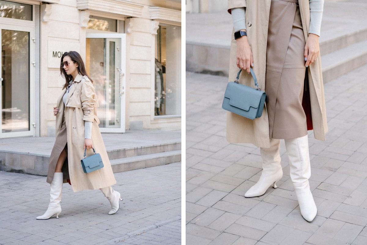 Юлия говорит, что ей нравятся разные модели обуви — и женственные, и брутальные