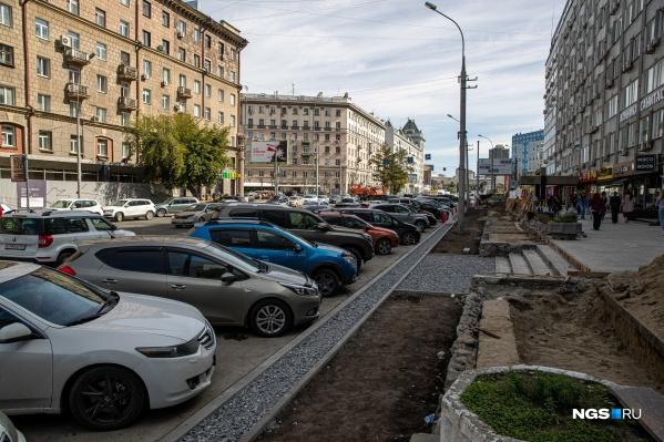 Месторасположение парковок на Вокзальной магистрали изменили в очередной раз