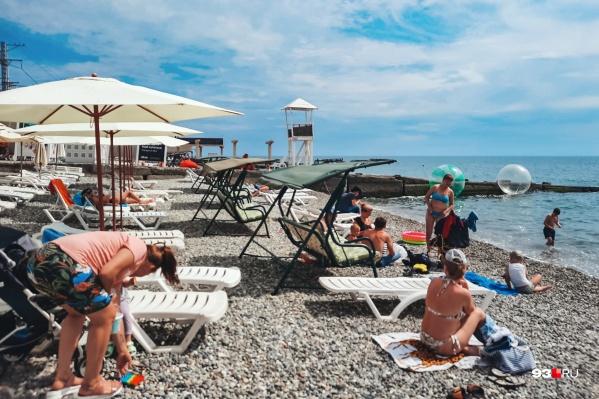 Отечественные курорты на волне пандемии остаются местом отдыха номер один для российских туристов