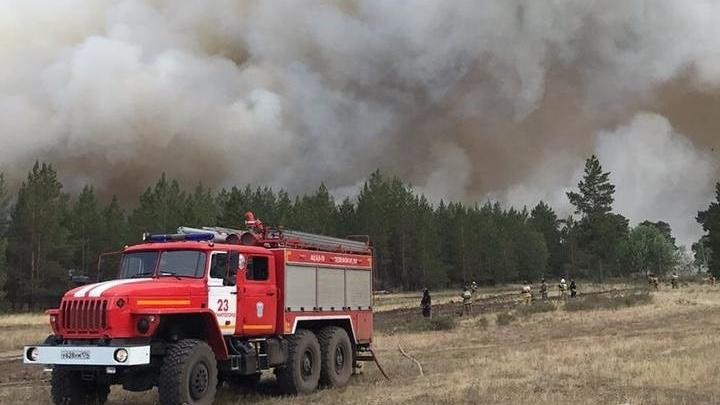 В Челябинской области ввели режим ЧС из-за лесных пожаров на юге региона