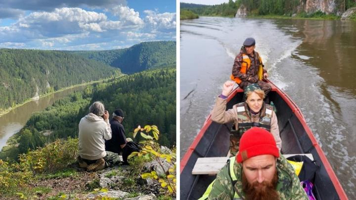 На федеральном канале покажут фильм о реке Чусовой