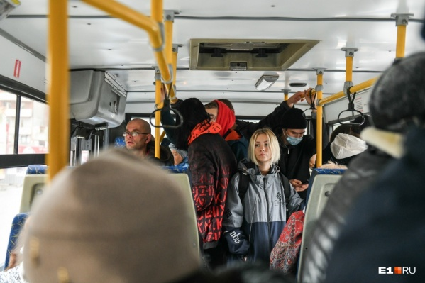 Всё больше людей заражаются коронавирусом в общественном транспорте