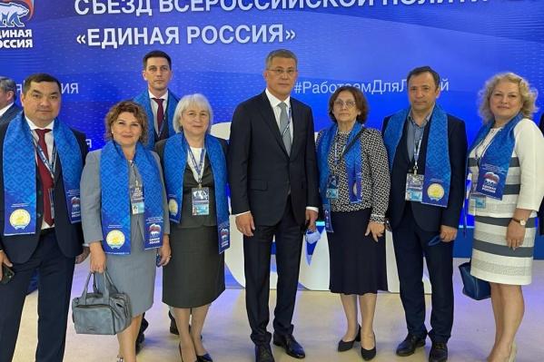 Глава Башкирии является секретарем регионального отделения «Единой России»