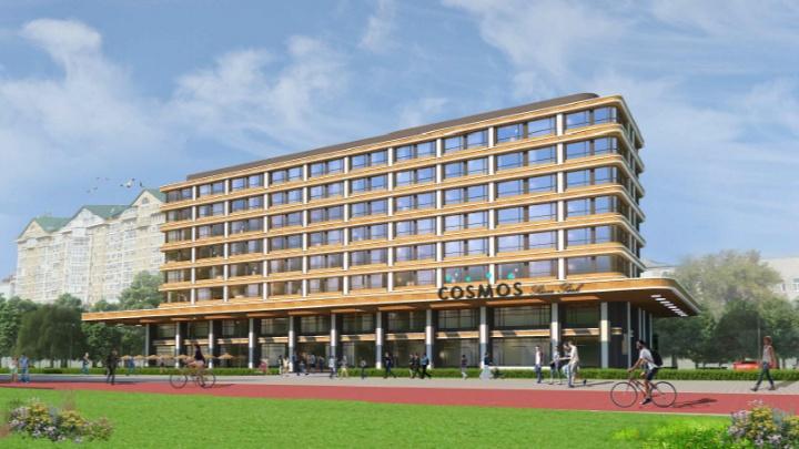Омская прокуратура забраковала решение о сносе деревьев для строительства отеля Cosmos