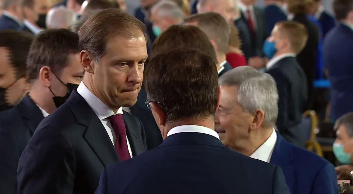 На фото — глава Минпромторга Денис Мантуров