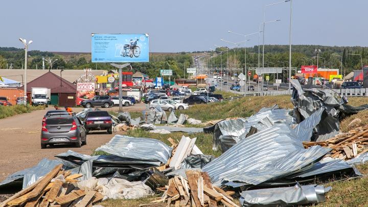 Сорванные крыши и сгоревшие дома: рассказываем о последствиях урагана в Башкирии