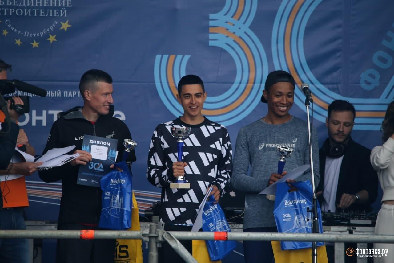 Победители на дистанции 10,5 км<br /><br />автор фото Павел Каравашкин / «Фонтанка.ру»