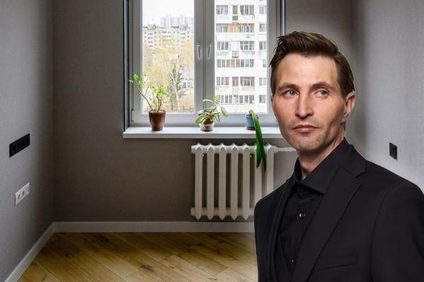 Дворник Юрий Ветлугин прославился на всю страну в январе благодаря фотосессии «словно с обложки GQ»