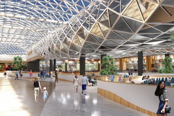 Торговый центр планируют открыть весной