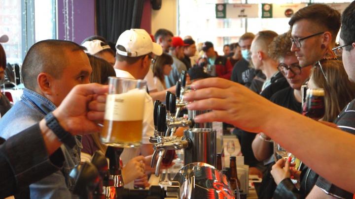 В Технопарке прошел первый фестиваль пива и еды — как это было