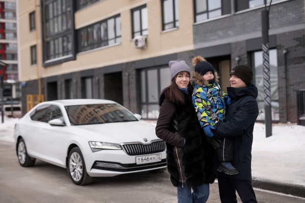Время в дороге семья Минченковых проводит с комфортом