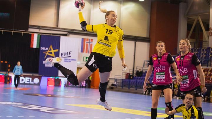ГК «Ростов-Дон» на последних секундах вырвал победу унорвежского «Вайперс» вЛиге чемпионов