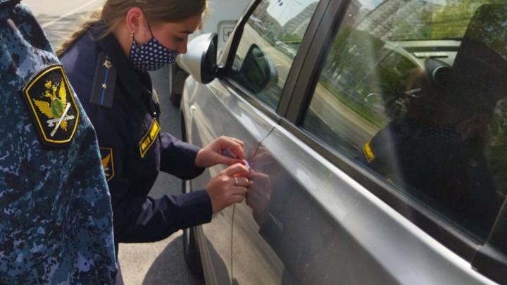 У жителя Самары арестовали Mercedes-Benz из-за долгов