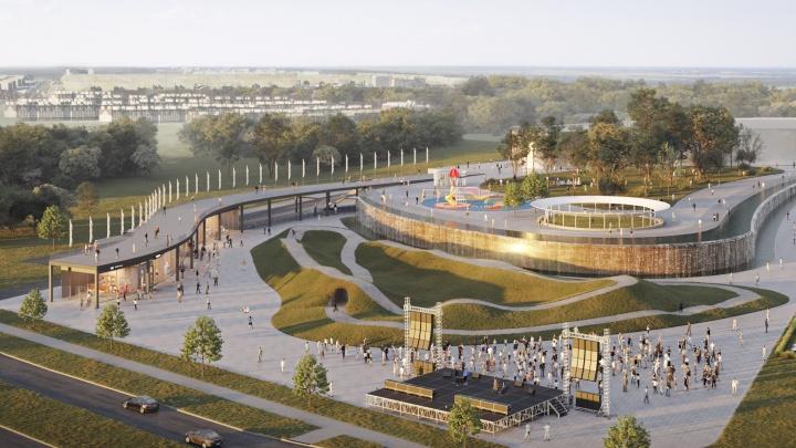 Стало известно, как будет выглядеть новый жилой квартал в «Кошелев-проекте»