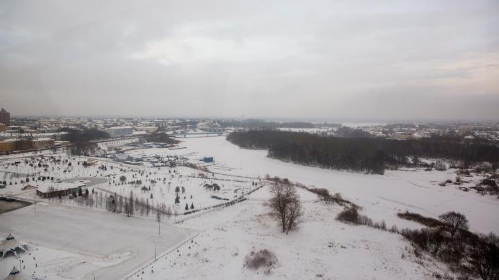 В Ярославле определили места, где людей будут штрафовать за выход на лед