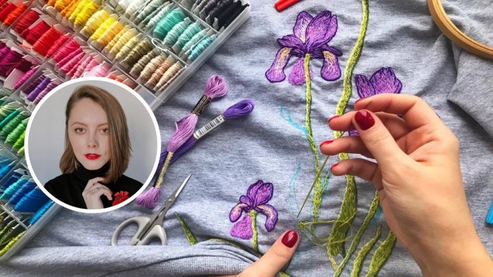 Бросила работу в офисе ради вышивки: девушка из Ярославля рассказала, как живет за счет хендмейда