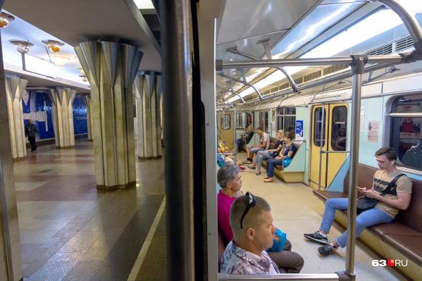 Вагоны метро в Самаре не обновляли с момента открытия станций