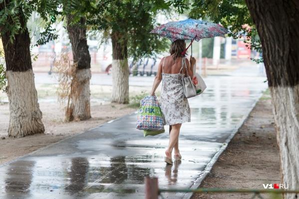 Волгоградцам последние августовские выходные подарят немного прохлады