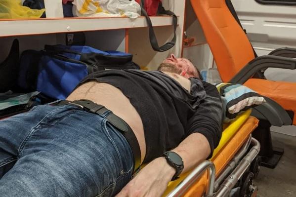 Врачи диагностировали у пострадавшего серьезные травмы