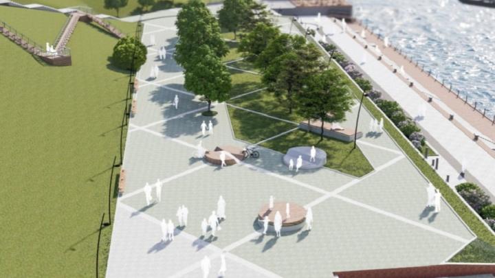 За ТЦ «Красноярье» появится парковое кольцо. Опубликованы эскизы