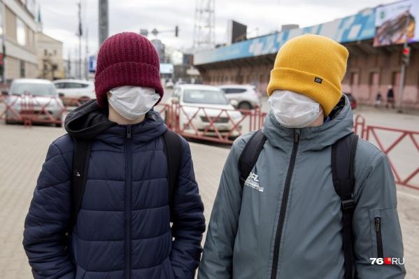 За всё время пандемии в Ярославской области не переставал действовать масочный режим в общественных местах
