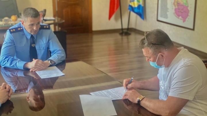 Замгенпрокурора России предупредил загрязнение реки в Кузбассе