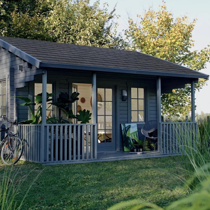 Удивите гостей, поселите их в отдельный дачный домик