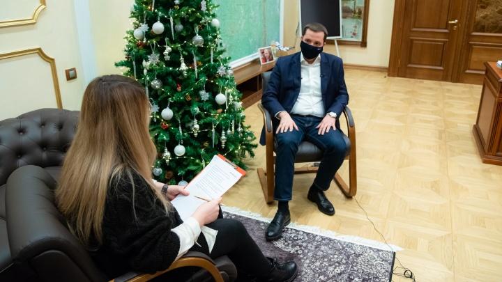 О критике «Единой России» и прививке от COVID-19: Александр Цыбульский отвечает на блицопрос 29.RU