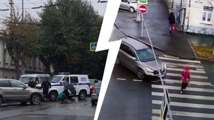 Смертельное ДТП в центре Екатеринбурга попало на видео
