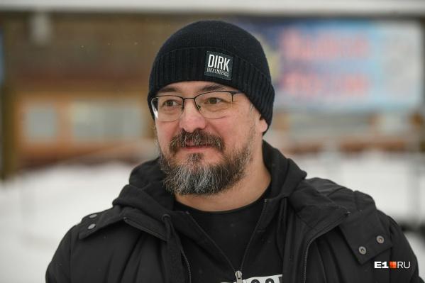 Артур Зиганшин —директор Шарташского лесопарка