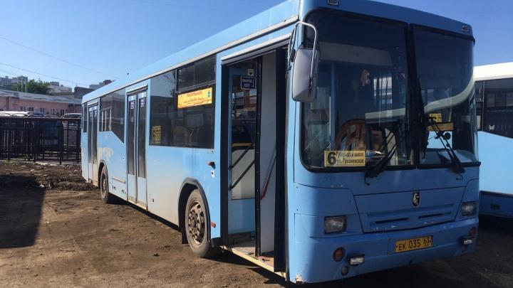 В Самаре изменили режим работы автобусного маршрута № 6