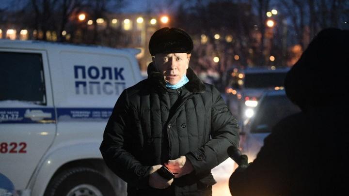 Глава Екатеринбурга прибыл на место пожара, где погибли восемь человек