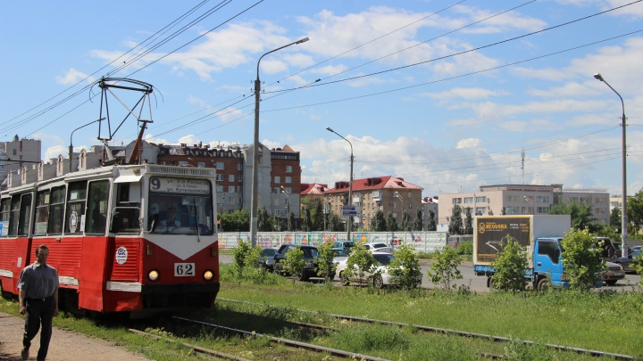 В Омске на несколько часов закроют движение трамваев из-за конкурса водителей