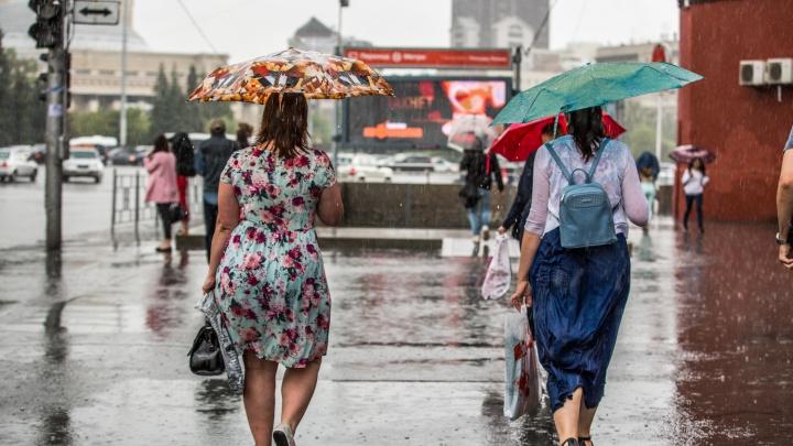 К Новосибирску приближается холодный фронт — температура воздуха резко понизится