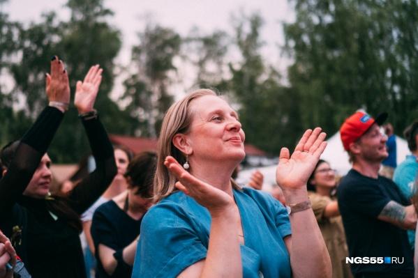 На фестиваль пришли тысячи омичей